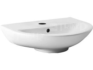 Výprodej JIKA MIO umyvadlo 65 x 49 cm s otvorem, bílé/perla