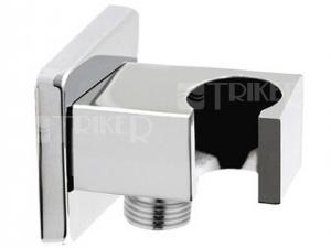 Výprodej Kvadro pevný držák sprchy s vyústěním