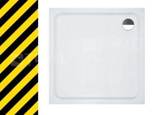 Výprodej Laufen solutions vanička 90x90cm bílá