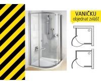 Výprodej PSKK3-100 sprchový kout R500 satin/transparent, 376AAU00Z1, Ravak