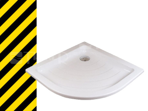 Výprodej Ravak Ronda LA vanička akrylátová 80 x 80 x 10 cm R500 bílá