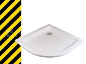 Výprodej Ronda LA vanička 80 x 80 x 10 cm R500 bílá