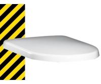 Výprodej Sedátko Artic se zpomalovacím mechanismem bílé, Gustavsberg
