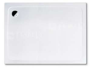 Výprodej Superplan vanička ocelová 80 x 100 x 2,5 cm, bílá