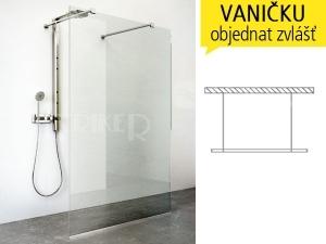 WALK IN H sprchový kout WALK H/1200 profil:brillant, výplň:transparent