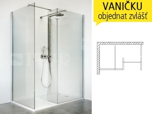 WALK IN I sprchový kout