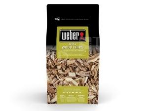Weber dřevěné lupínky jablko 700g