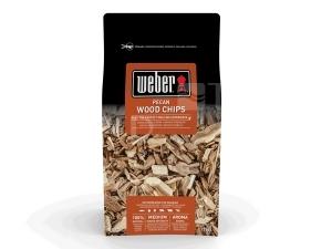 Weber dřevěné lupínky pekanový ořech