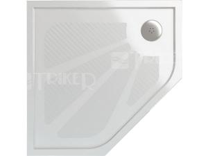 WM563 Vanička z litého mramoru 900x900 bílá