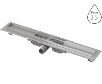 Žlab podlahový APZ101 LOW pro perforovaný rošt 300mm, boční odtok 40mm, APZ101-300, Alca plast