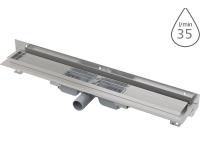 Žlab podlahový APZ104 Flexible LOW pro perforovaný rošt 550mm, boční odtok 40mm, APZ104-550, Alca plast