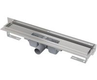 Žlab podlahový APZ4 Flexible pro perforovaný rošt 850mm, boční odtok 50mm, APZ4-850, Alca plast