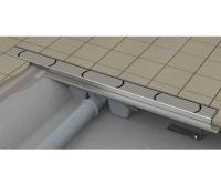 Žlab podlahový Ravak Chrome 850mm nerez, X01427, Ravak