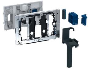 Zásuvka pro tyčinku Geberit DuoFresh, pro nádržku Sigma 12 cm, lesklá chrom