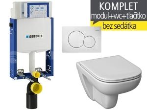 Závěsný WC komplet T-05 Kombifix Eco + Deep klozet závěsný 51 cm