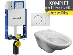 Závěsný WC komplet T-05 Kombifix Eco + EP klozet závěsný