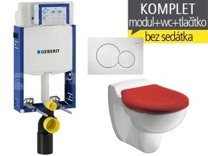 Závěsný WC komplet T-05 Kombifix Eco + Kind klozet dětský