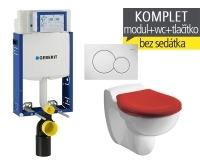 Závěsný WC komplet T-05 Kombifix Eco + Kind klozet dětský, T-05 KKI, Geberit