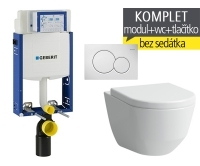 Závěsný WC komplet T-05 Kombifix Eco + Laufen Pro klozet kapotovaný, T-05 LPK, Geberit