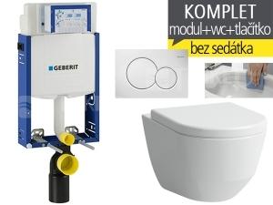 Závěsný WC komplet T-05 Kombifix Eco + Laufen Pro Rimless klozet závěsný