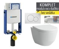 Závěsný WC komplet T-05 Kombifix Eco + Laufen Pro Rimless klozet závěsný, T-05 LPR, Geberit