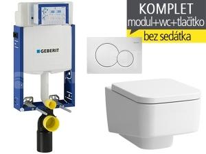 Závěsný WC komplet T-05 Kombifix Eco + Laufen Pro S klozet závěsný 53 cm