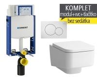 Závěsný WC komplet T-05 Kombifix Eco + Laufen Pro S klozet závěsný, T-05 LPS, Geberit