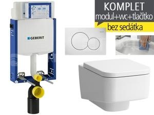 Závěsný WC komplet T-05 Kombifix Eco + Laufen Pro S RIMLESS klozet závěsný 53 cm