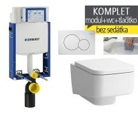 Závěsný WC komplet T-05 Kombifix Eco + Laufen Pro S Rimless klozet závěsný, T-05 LPS R, Geberit