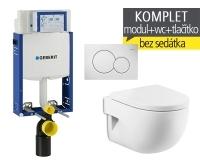 Závěsný WC komplet T-05 Kombifix Eco + Meridian compact klozet závěsný, T-05 RMC, Geberit