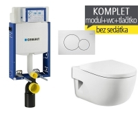 Závěsný WC komplet T-05 Kombifix Eco + Meridian klozet závěsný, T-05 RME, Geberit