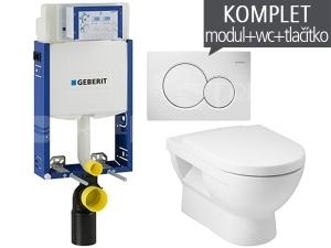 Závěsný WC komplet T-05 Kombifix Eco + Mio klozet závěsný