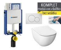 Závěsný WC komplet T-05 Kombifix Eco + Mio-N Rimless klozet závěsný, T-05 JMR, Geberit