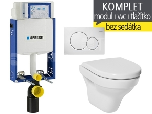 Závěsný WC Komplet T-05 Kombifix Eco + Tigo klozet závěsný