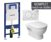 Závěsný WC komplet T-06 Duofix + Cubito klozet závěsný, T-06 JCU, Geberit
