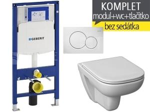 Závěsný WC komplet T-06 Duofix + Deep klozet závěsný 51 cm