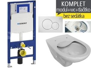 Závěsný WC komplet T-06 Duofix + Dino RIMLESS klozet závěsný 53 cm