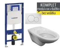 Závěsný WC komplet T-06 Duofix + EP klozet závěsný, T-06, Geberit