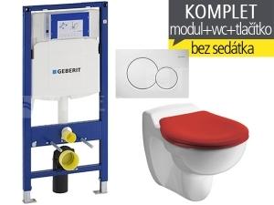 Závěsný WC komplet T-06 Duofix + Kind klozet závěsný dětský 53,5 cm