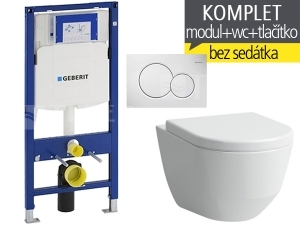 Závěsný WC komplet T-06 Duofix + Laufen Pro klozet kapotovaný