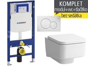 Závěsný WC komplet T-06 Duofix + Laufen Pro S klozet závěsný 53 cm