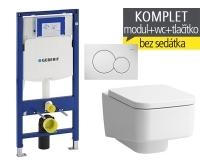 Závěsný WC komplet T-06 Duofix + Laufen Pro S klozet závěsný, T-06 LPS, Geberit