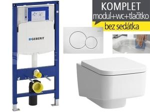 Závěsný WC komplet T-06 Duofix + Laufen Pro S RIMLESS klozet závěsný 53 cm