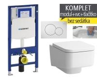 Závěsný WC komplet T-06 Duofix + Laufen Pro S Rimless klozet závěsný, T-06 LPS R, Geberit