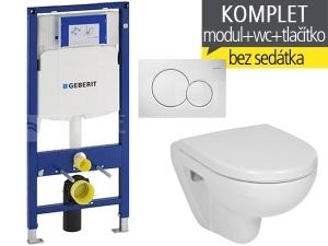 Závěsný WC komplet T-06 Duofix + Lyra plus Compact klozet závěsný 49 cm