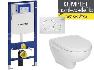 Závěsný WC komplet T-06 Duofix + Lyra plus klozet závěsný 53 cm