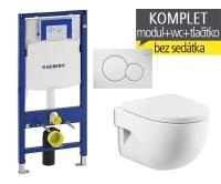 Závěsný WC komplet T-06 Duofix + Meridian compact klozet závěsný, T-06 RMC, Geberit