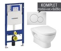 Závěsný WC komplet T-06 Duofix + Mio klozet závěsný, T-06 JMI, Geberit