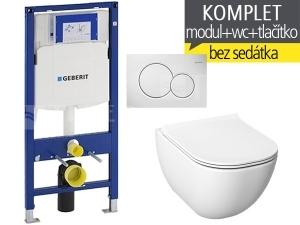 Závěsný WC komplet T-06 Duofix + Mio-N klozet závěsný 53 cm