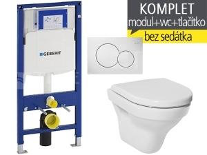 Závěsný WC komplet T-06 Duofix + Tigo klozet závěsný 49 cm